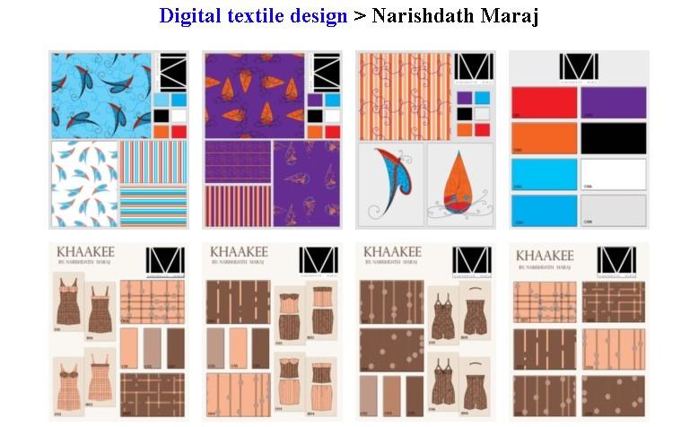 Textiles coursework portfolio.